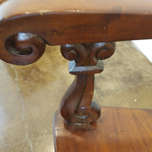Load image into Gallery viewer, Carved Mahogany Side Chair