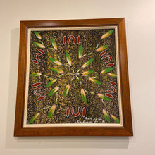 Load image into Gallery viewer, Bush Bananas 1996 Painting by Aboriginal Artist Reggie Sultan