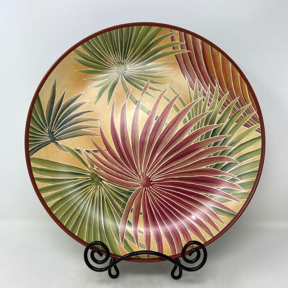 Decorative Palm Charger
