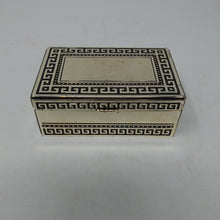 Load image into Gallery viewer, Silver Plated Designed Lidded Trinket Box