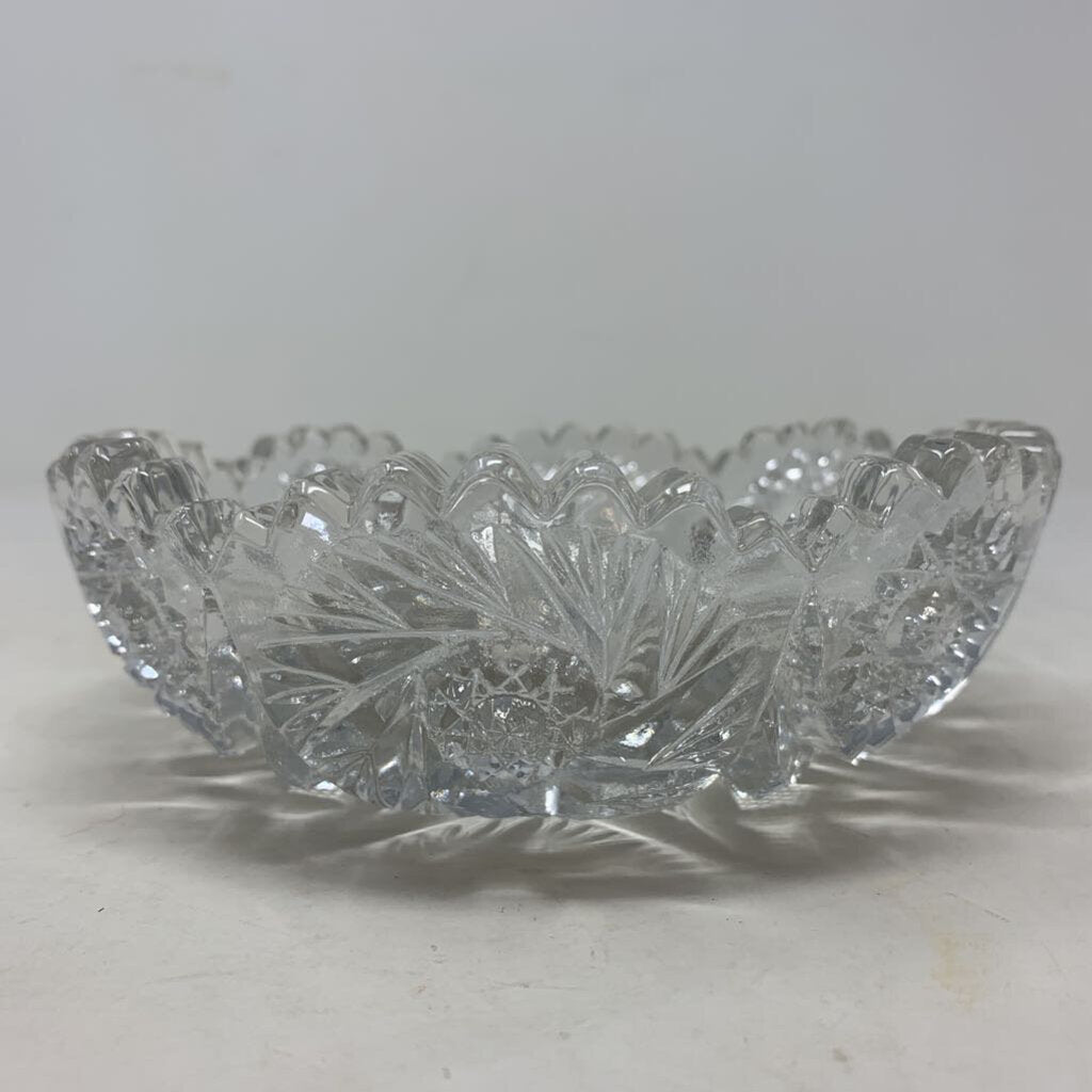 Pressed Glass Candy Bowl