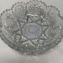 Load image into Gallery viewer, Pressed Glass Candy Bowl