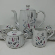 Load image into Gallery viewer, Royal Sealy Japan Coffee Pot, Sugar, Creamer & 6 Cups & Saucers
