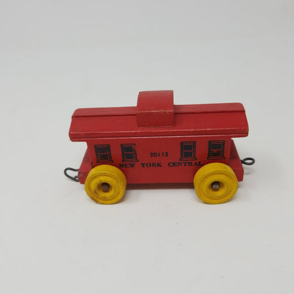 Vintage New York Central Wooden Toy Train