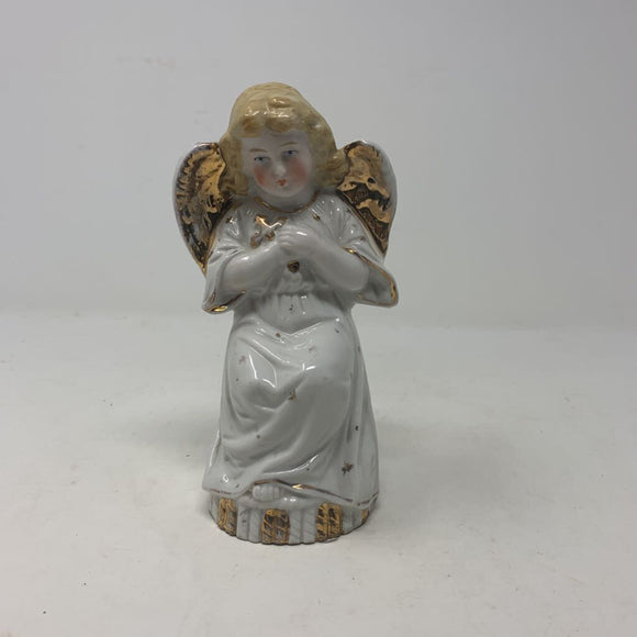 German Porcelain Antique Angel Figurine