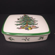 Load image into Gallery viewer, Spode Christmas Tree Trinket Box