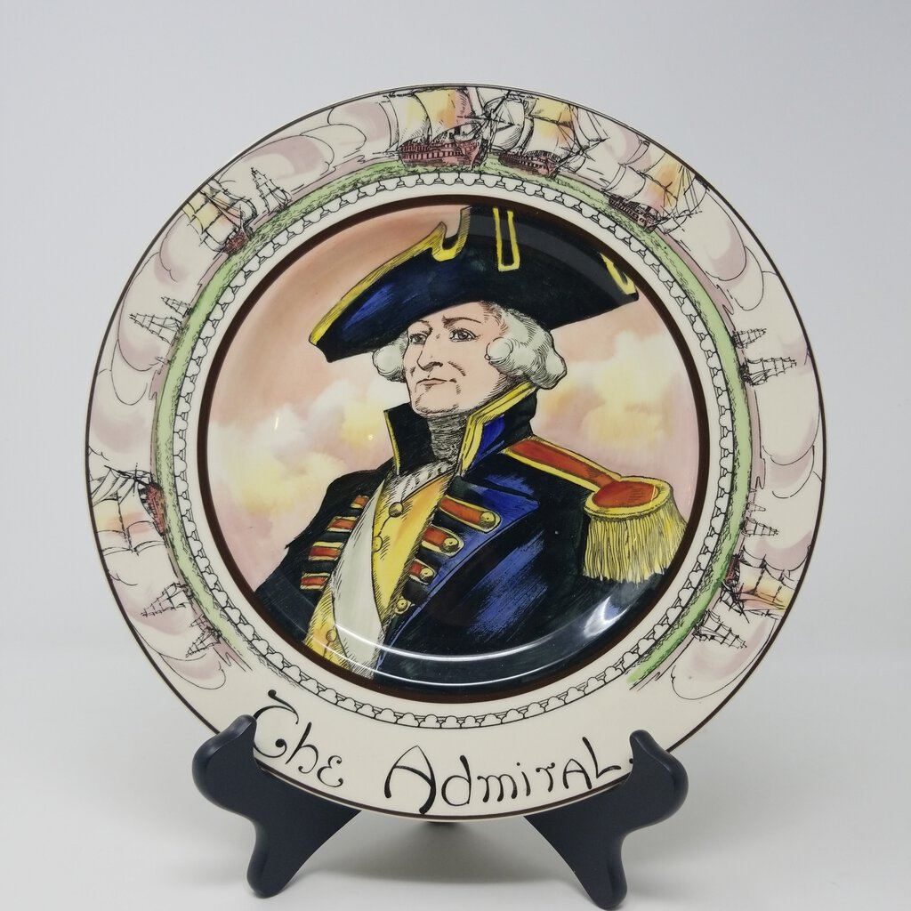 Royal Doulton Plate, The Admiral