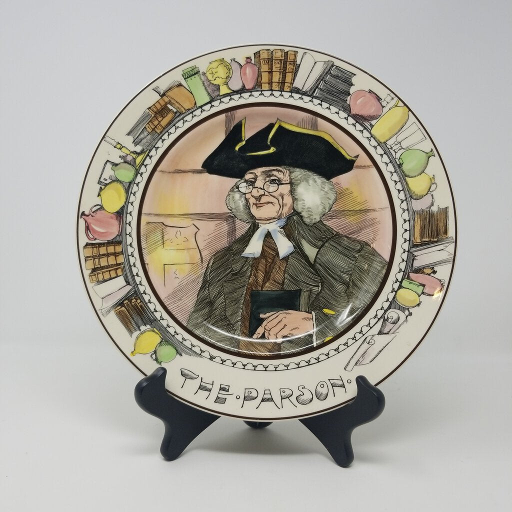 Royal Doulton Plate, The Parson
