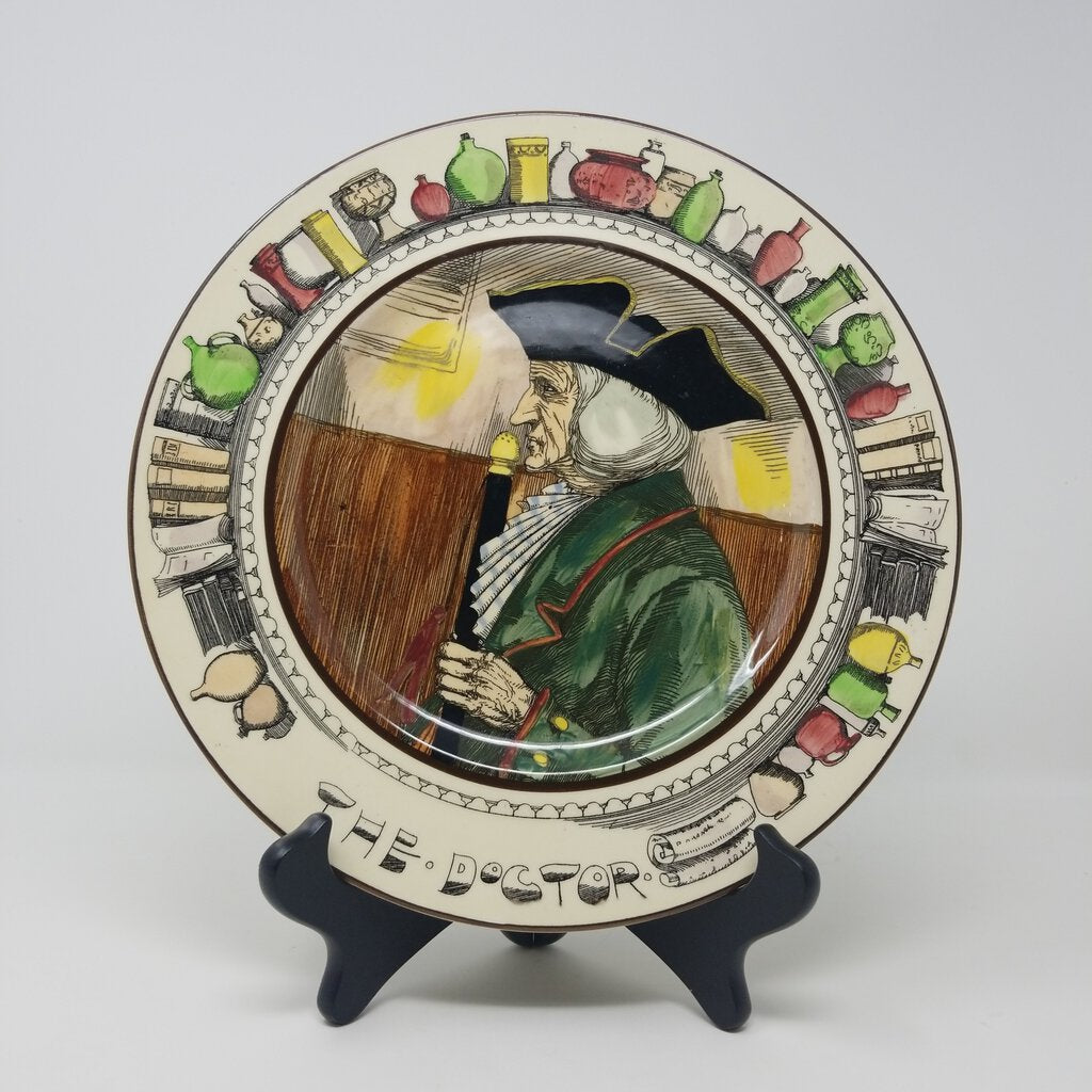 Royal Doulton Plate, The Doctor