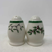 Load image into Gallery viewer, Spode Christmas Tree Salt & Pepper