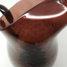 Load image into Gallery viewer, Amethyst Coin Dot Hand Blown Pitcher