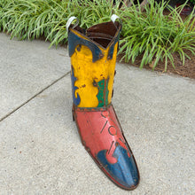 Load image into Gallery viewer, Metal Boot Planter