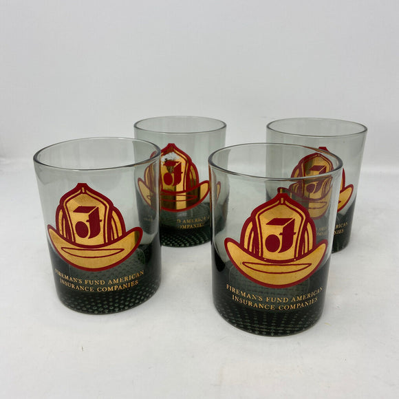 Fireman's Fund American Insurance Company Lowball Glasses