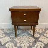 Mid-Century Single Drawer Stand