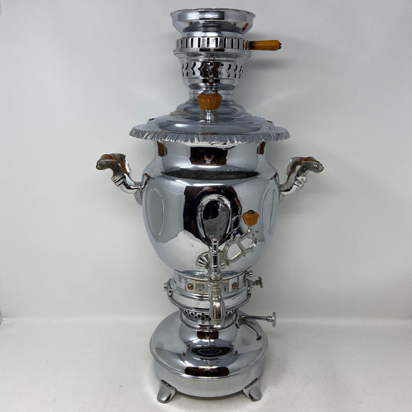 Nickel Plated Samovar