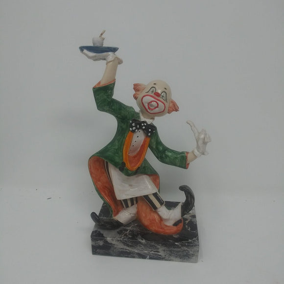 Fontanini Depose Waiter Clown
