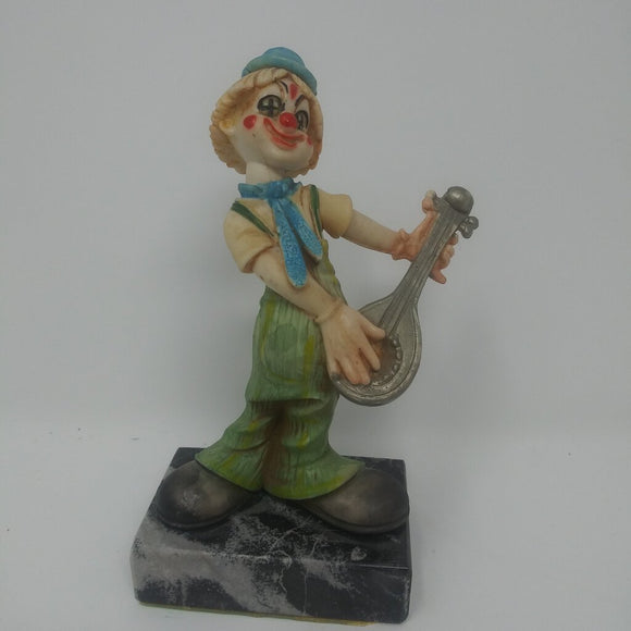 Fontanini Depose Style Boy Clown with Mandolin