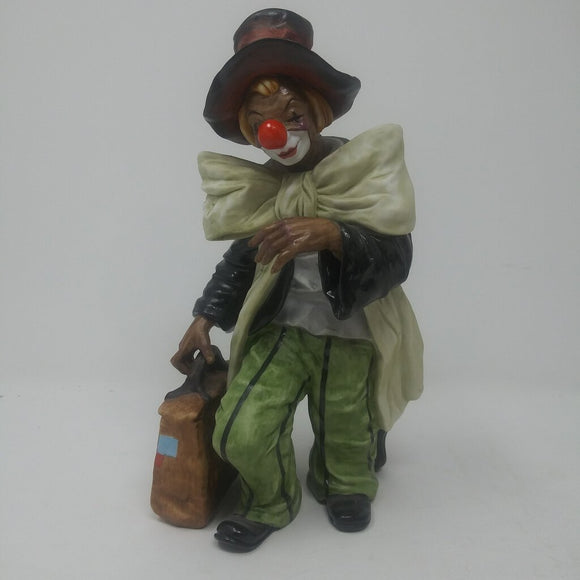 Gorham Clown with Suitcase