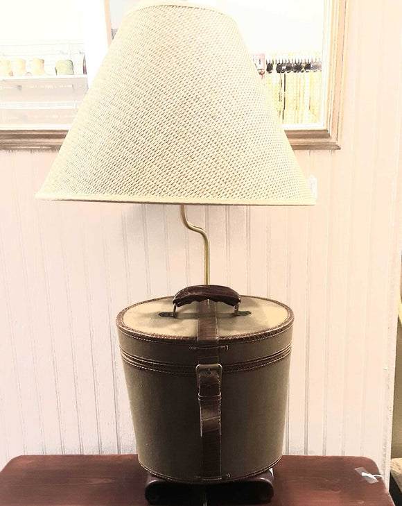 Travel Bag Suitecase Lamp