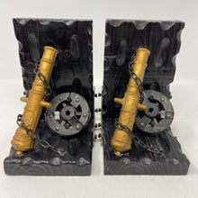 Load image into Gallery viewer, Vintage Cannon Bookends- Pair