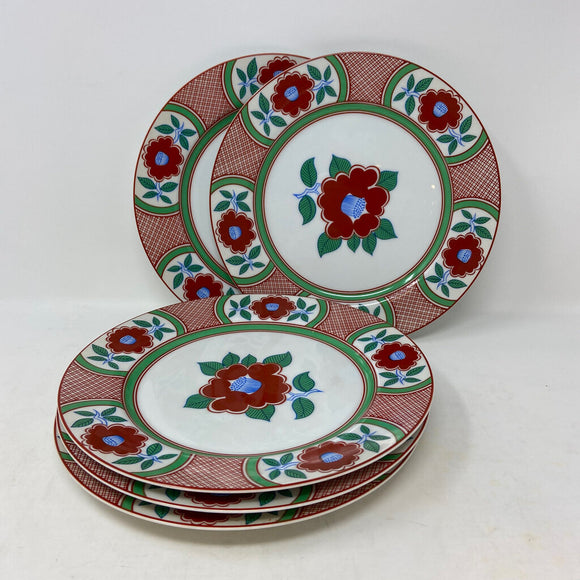 Fitz & Floyd Set of Five Luncheon Plates