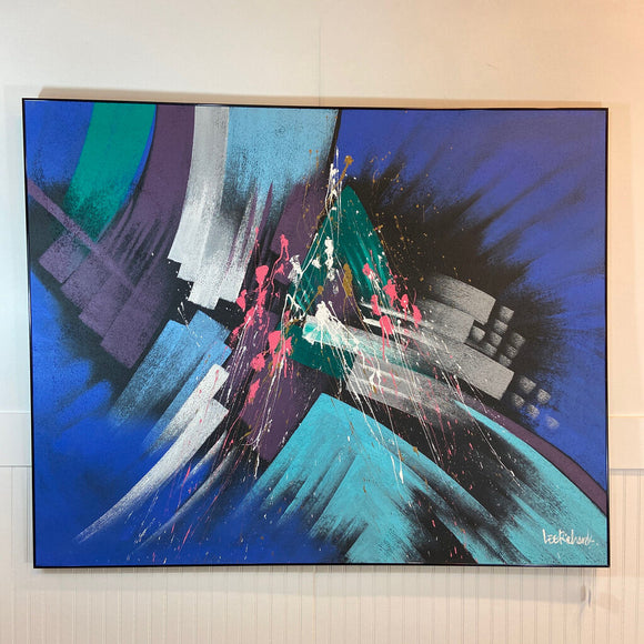 Painting by Lee Richards, Abstract, Mid-Century