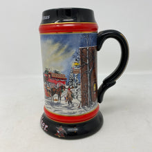 Load image into Gallery viewer, Budweiser A Perfect Christmas 1992 Stein Mug