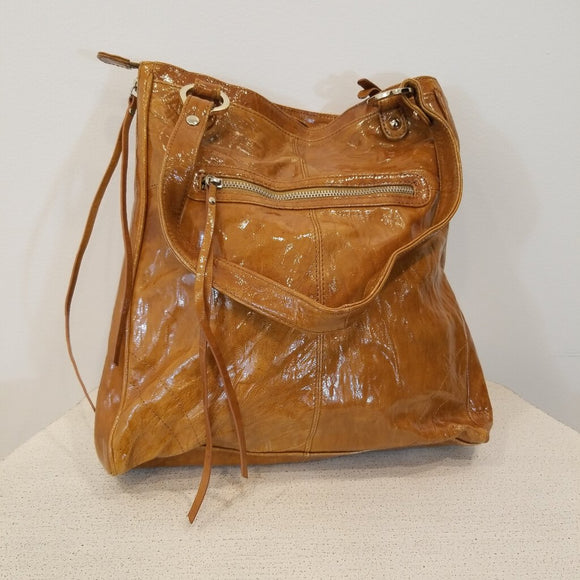 Junior Drake Leather Shoulder Bag Purse