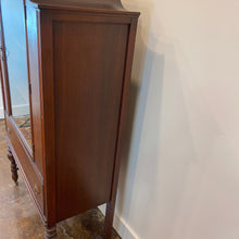 Load image into Gallery viewer, Vintage Walnut China Cabinet