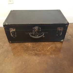 Shwayder Vintage Black Trunk Train Case