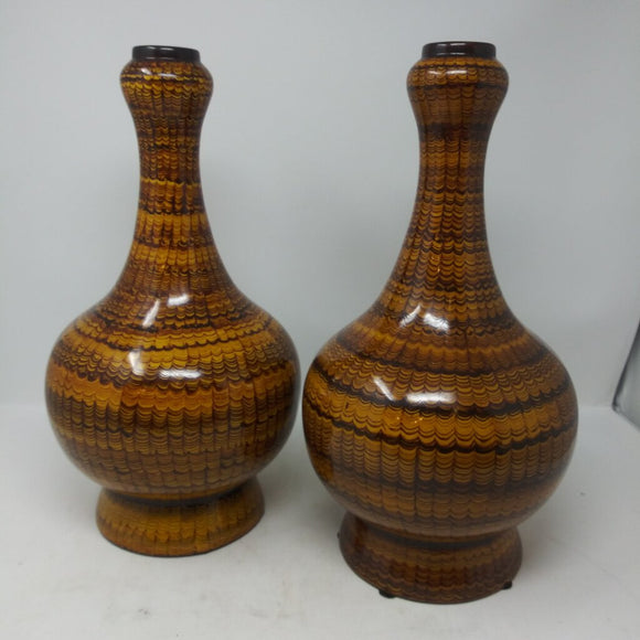 Maitland-Smith Pair of Tall Vases