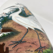Load image into Gallery viewer, Portmeirion Birds of England Little Egret Vase