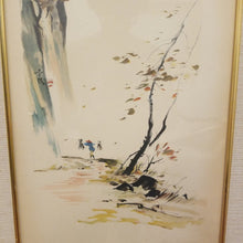 Load image into Gallery viewer, Tyrus Wong Vintage Asian Style Framed Print