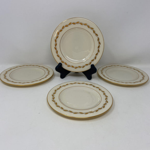 Lenox Golden Wreath Bread & Butter Plates - Set of Four