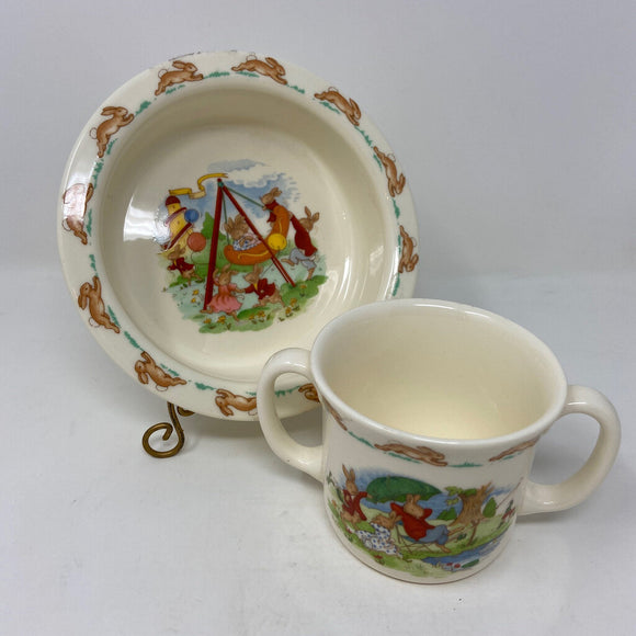 Bunnykins by Royal Doulton Child's Porridge Set