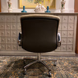 Vintage Steelcase Adjustable Swivel Arm Chair Office Chair