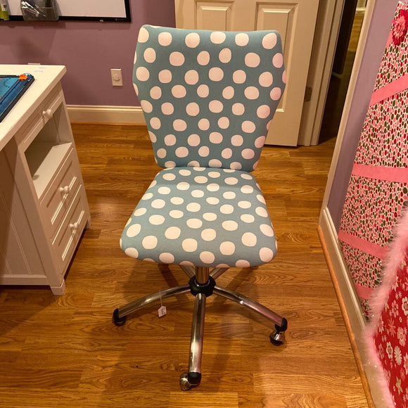 Blue Pottery Barn Teen Desk Chair