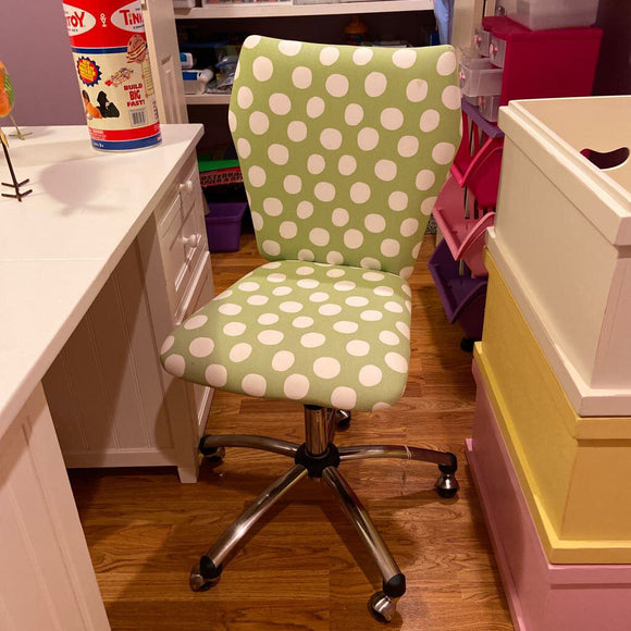 Green Pottery Barn Teen Desk Chair