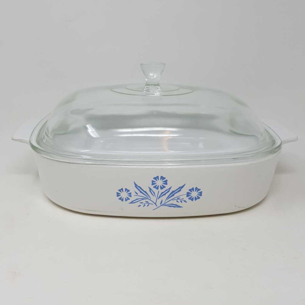 Blue Cornflower Corning Ware Dish