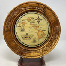 Load image into Gallery viewer, Wooden Hawaii Plate
