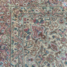 Load image into Gallery viewer, Karistan 8.5' x 12' Beige, Rose,and Teal Rug
