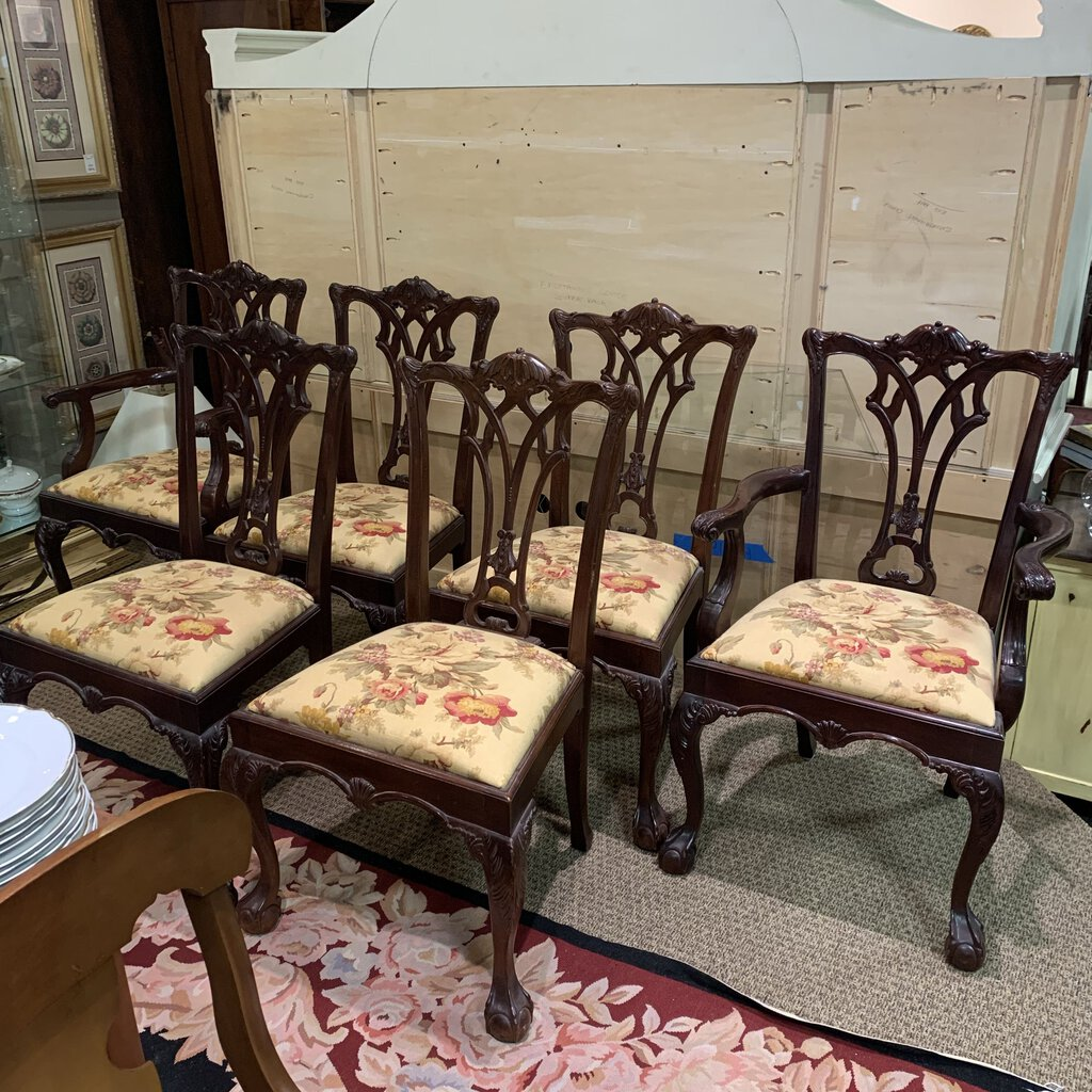 Lexington Mahogany Dining Chairs Set of 4