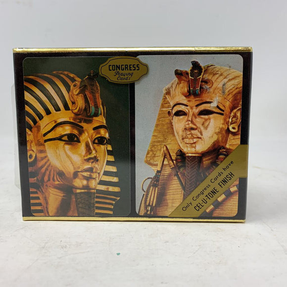 Congress Egyptian Playing Cards New in Box