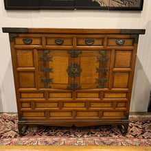 Load image into Gallery viewer, Antique Asian Bandaji Blanket Chest