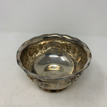 Load image into Gallery viewer, Scalloped Silver Plate Nut Dish