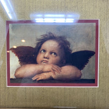 Load image into Gallery viewer, Sistine Madonna Framed Cherub Print by Raphael
