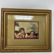 Load image into Gallery viewer, Sistine Madonna Framed Cherubs Print by Raphael