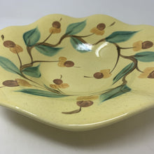 Load image into Gallery viewer, Gail Pittman Yellow Ruffled Bowl Signed