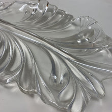 Load image into Gallery viewer, Thick Glass Leaf Shaped Dish