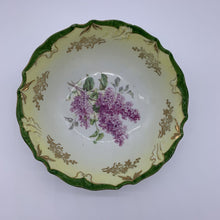 Load image into Gallery viewer, Bovarian Style Lilac Painted Bowl